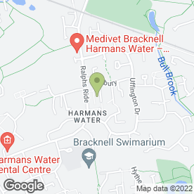 Map of Shahidas Indian Takeaway in Bracknell, berkshire
