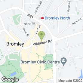 Map of BATCHELORS SOLICITORS in Bromley, kent