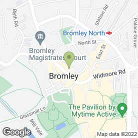 Map of Baxter Philips in Bromley, kent
