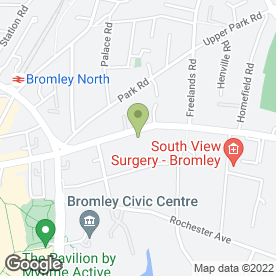 Map of R. Saifuddin Solicitors in Bromley, kent