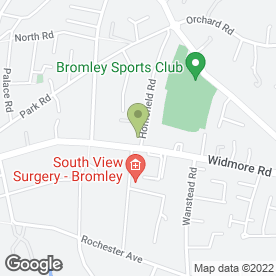Map of Laurels Veterinary Centre Ltd in Bromley, kent