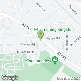 Map of ALLGEARS in Kingston Upon Thames, surrey