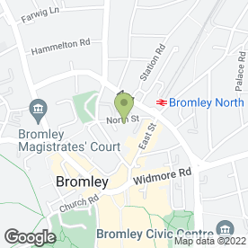 Map of Bromley Aerials & Satellites in Bromley, kent