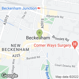 Map of Snappy Snaps in Beckenham, kent