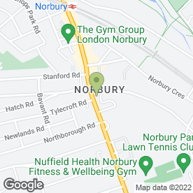 Map of The Norbury in London, london