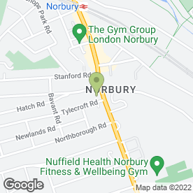 Map of Firmstone in Norbury, London, london