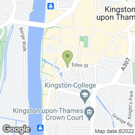 Map of Zizzi in Kingston Upon Thames, surrey