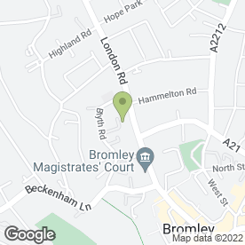 Map of Cleverbox UK Ltd in Bromley, kent