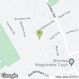 Map of Dr S Gnanachelvan in Bromley, kent