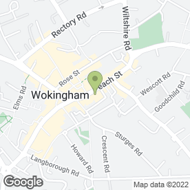 Map of In-Toto Kitchens in Wokingham, berkshire
