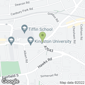 Map of Terra Mia in Kingston Upon Thames, surrey