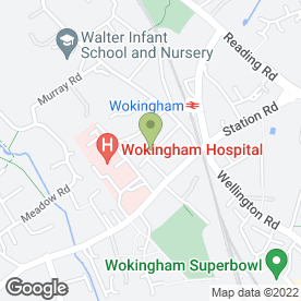 Map of Philip Cox Fine Art in Wokingham, berkshire