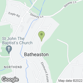 Map of MIKE ROBERTS in Batheaston, Bath, avon