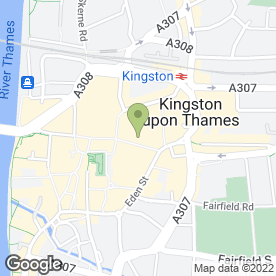 Map of Phones 4U Ltd in Kingston Upon Thames, surrey