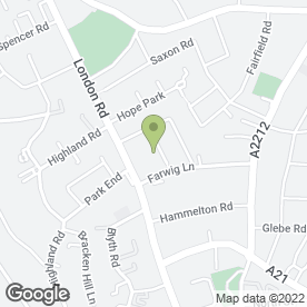 Map of Web Woman Bromley in Bromley, kent
