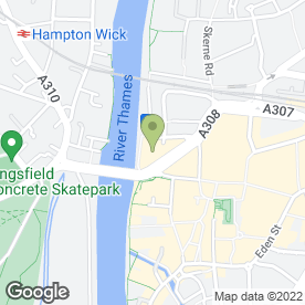 Map of Essence Style Bar in Kingston Upon Thames, surrey