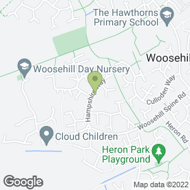 Map of D N A CAR BODY REPAIRS in Wokingham, berkshire