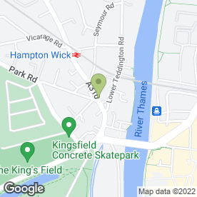 Map of The Slug & Lettuce in Kingston Upon Thames, surrey