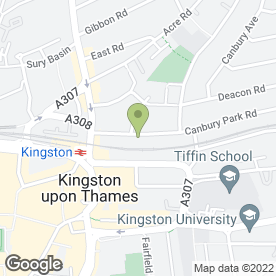 Map of Concept Loft Conversions in Kingston Upon Thames, surrey