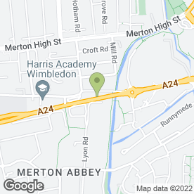 Map of ABBEY MILLS GARAGE in London, london