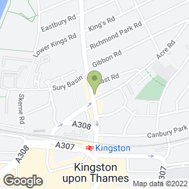Map of El Mariachi in Kingston Upon Thames, surrey