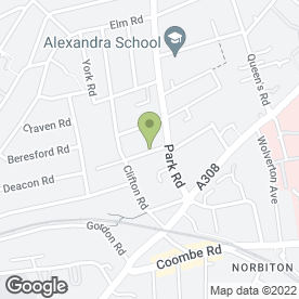 Map of CAMBERLEY AUTO FACTORS in Kingston Upon Thames, surrey