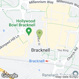 Map of Freelady Fabrics in Bracknell, berkshire