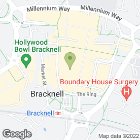 Map of O2 (UK) Ltd in Bracknell, berkshire