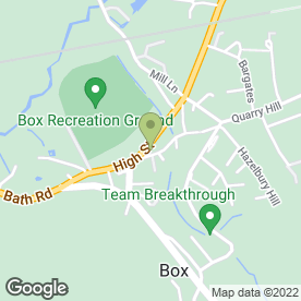 Map of The Co-operative Food in Box, Corsham, wiltshire