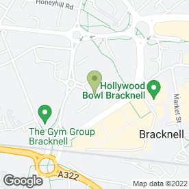 Map of Clearsky Design in BRACKNELL, berkshire