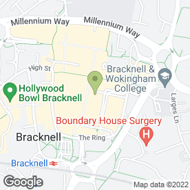 Map of Carson & Co in Bracknell, berkshire