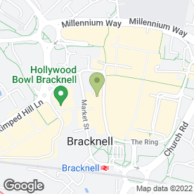 Map of Citizens Advice Bureau in Bracknell, berkshire