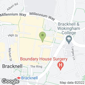 Map of Herbies Pizza in Bracknell, berkshire