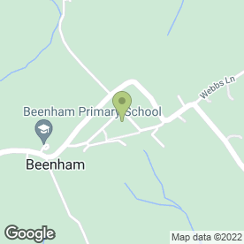 Map of Peter Clark Taxis in Beenham, Reading, berkshire