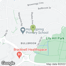 Map of Burton's Plumbing & Heating in Bracknell, berkshire