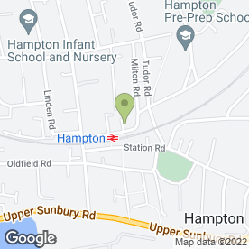 Map of Hampton Heating And Boiler Specialists in Hampton, middlesex