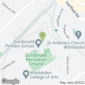 Map of Goddard Veterinary Group in Wimbledon, London, london