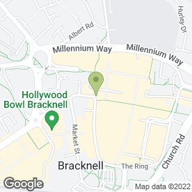 Map of Sears Property in Bracknell, berkshire
