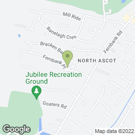 Map of Jamies Travel in Ascot, berkshire