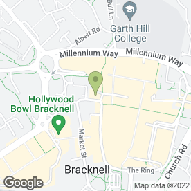 Map of Red Lion in Bracknell, berkshire