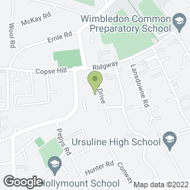 Map of RS Wimbledon Judo Club in London, london