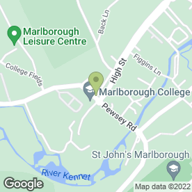 Map of G Hatto Barber Shops in Marlborough, wiltshire