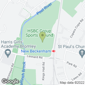 Map of Rose Beauty in Beckenham, kent