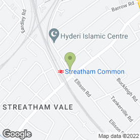 Map of The Pepper Tree in Streatham, London, london