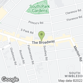 Map of Mae Ping Thai Restaurant in London, london