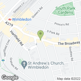 Map of Cahill De Fonseka Solicitors in London, london