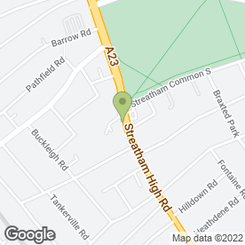 Map of Pied Bull in Streatham, London, london