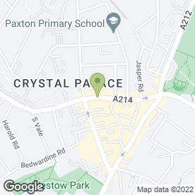 Map of Kinleigh Folkard & Hayward Letting Agents in Crystal Palace, london