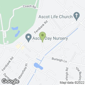 Map of Nicola Brown in Ascot, berkshire