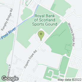 Map of Goals Soccer Centres in Beckenham, kent